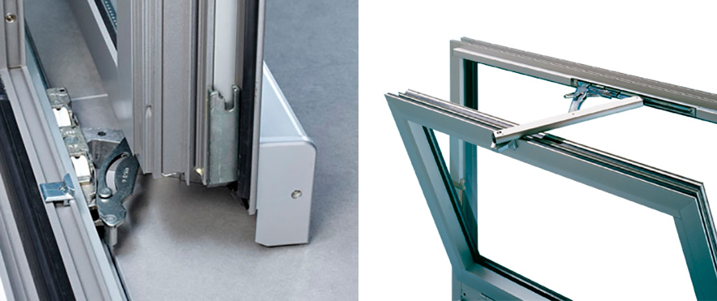 Walux Aluminium - Herraje - Herrajes para ventanas Madrid