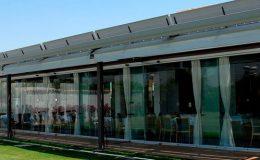 Cerramiento de salones en Madrid